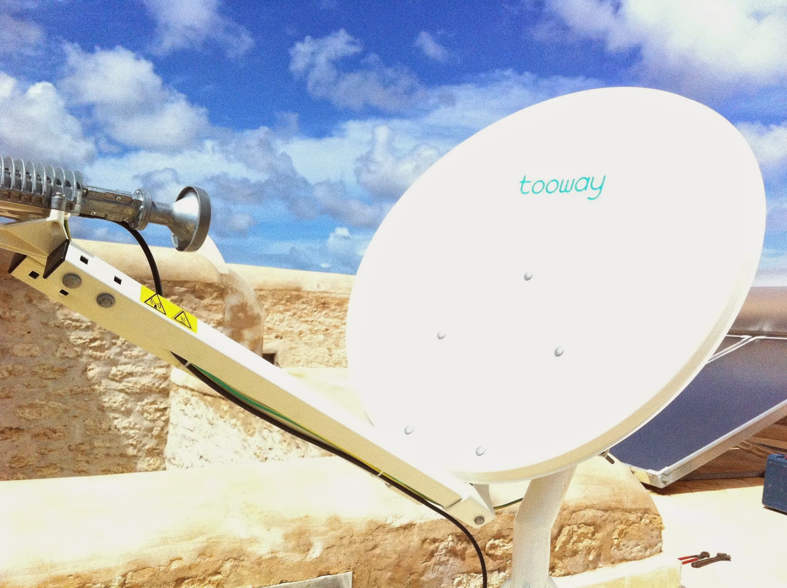 parabole internet par satellite