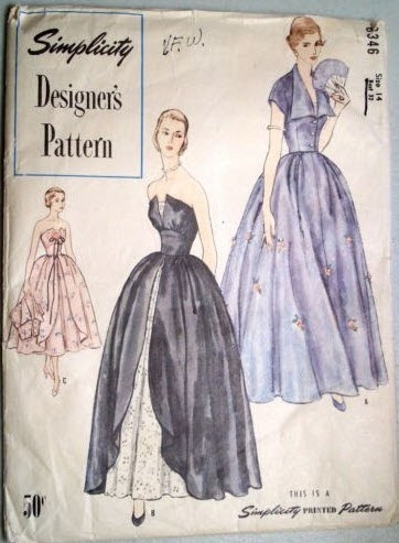 How Much Did That Sell For?!?: 1950\'s Simplicity 8346 Vintage Sewing ...