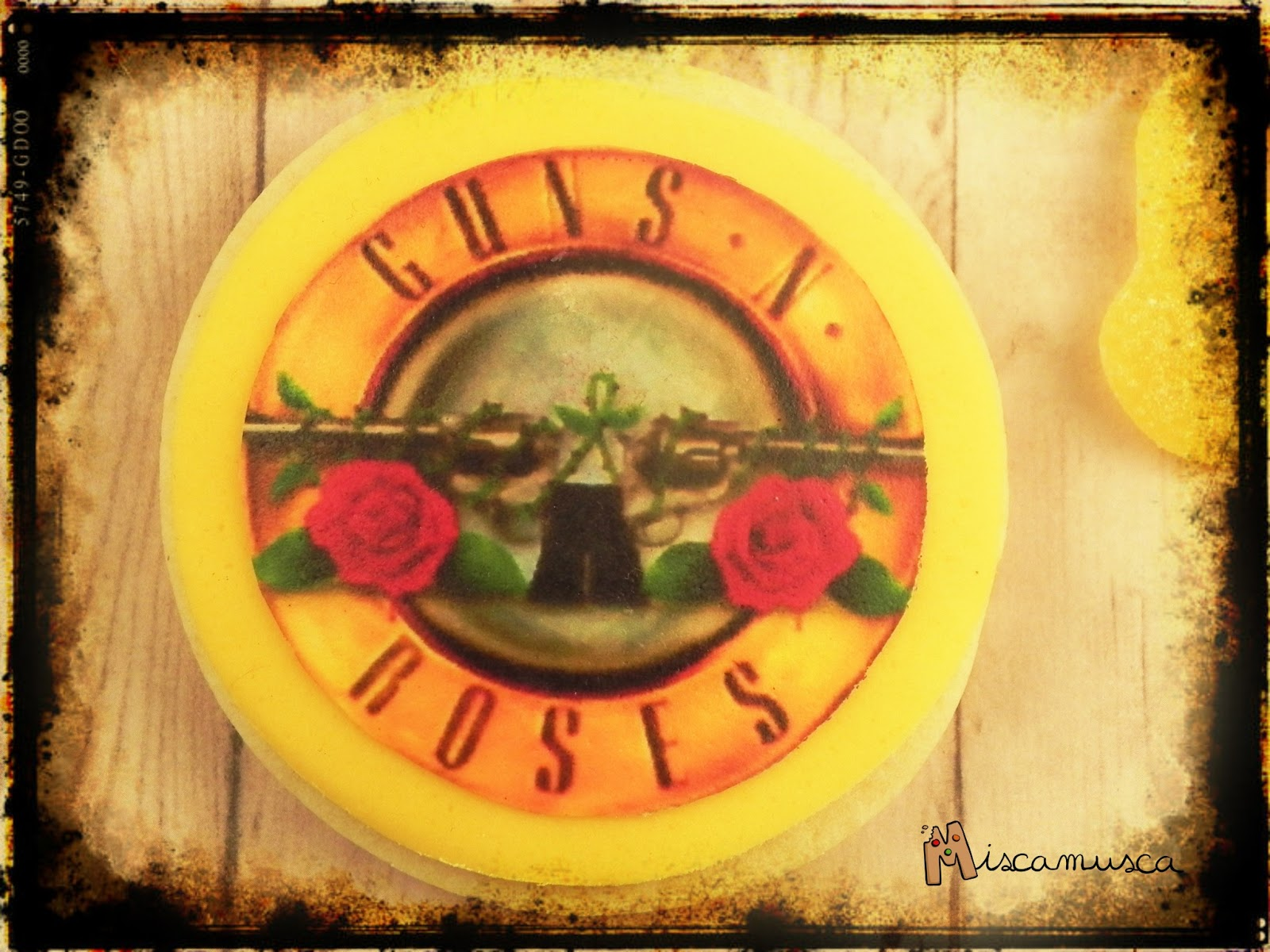 Galleta Guns'n'Roses