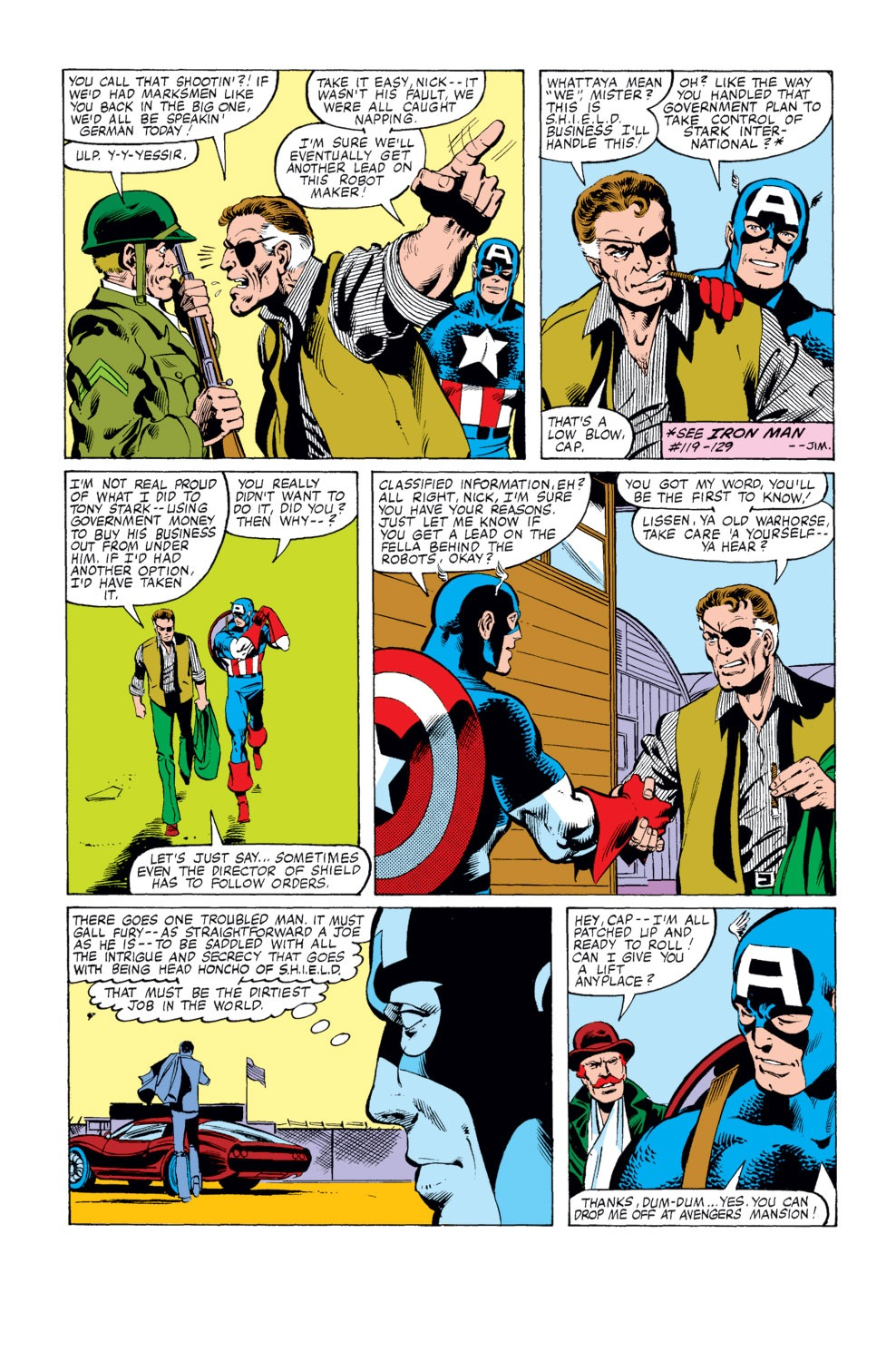 Captain America (1968) Issue #248 #163 - English 5