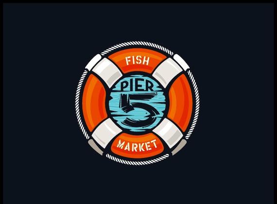 Fish market logo