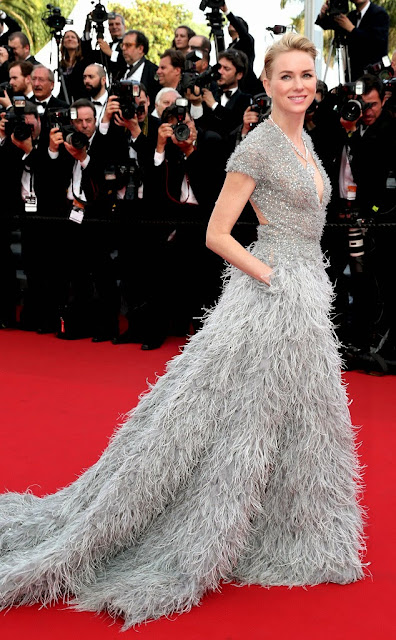 68º Festival Filme de Cannes, red carpet - Noami Watts  vestido de Elie Saab
