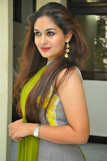 Actress Prayaga Martin Latest Picture Gallery at Pisachi Movie Success Meet 029.JPG