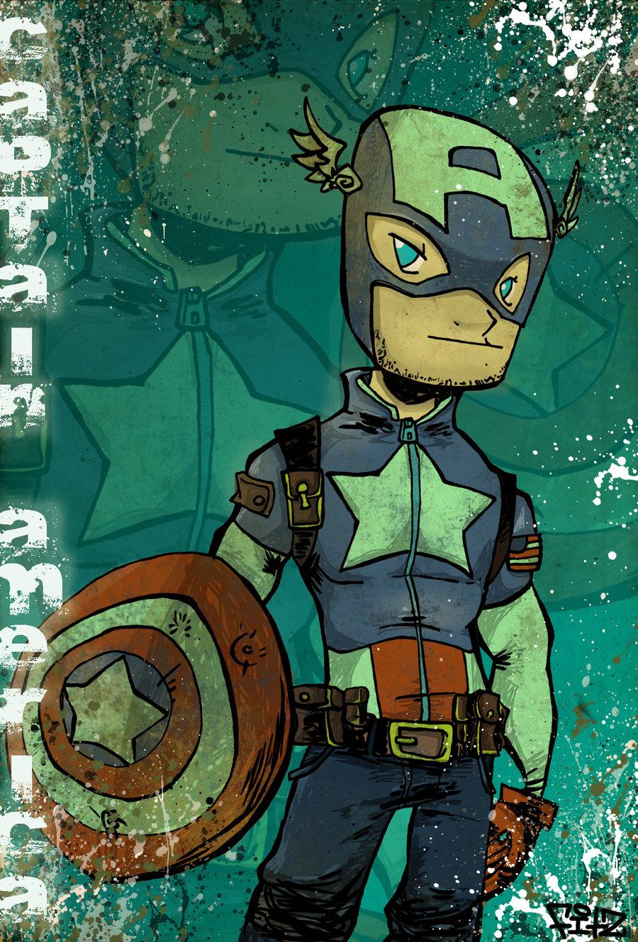 Captain America por kraola