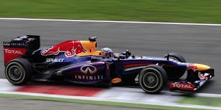 Vettel Catat Kemenangan Ketiga di GP Italia