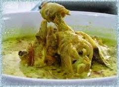 Resep praktis (mudah) membuat masakan opor ayam kampung spesial enak (lezat)
