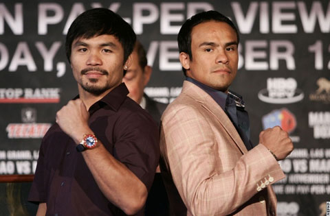 Manny Pacquiao vs Juan Manuel Marquez 3 New York Press Conference Video