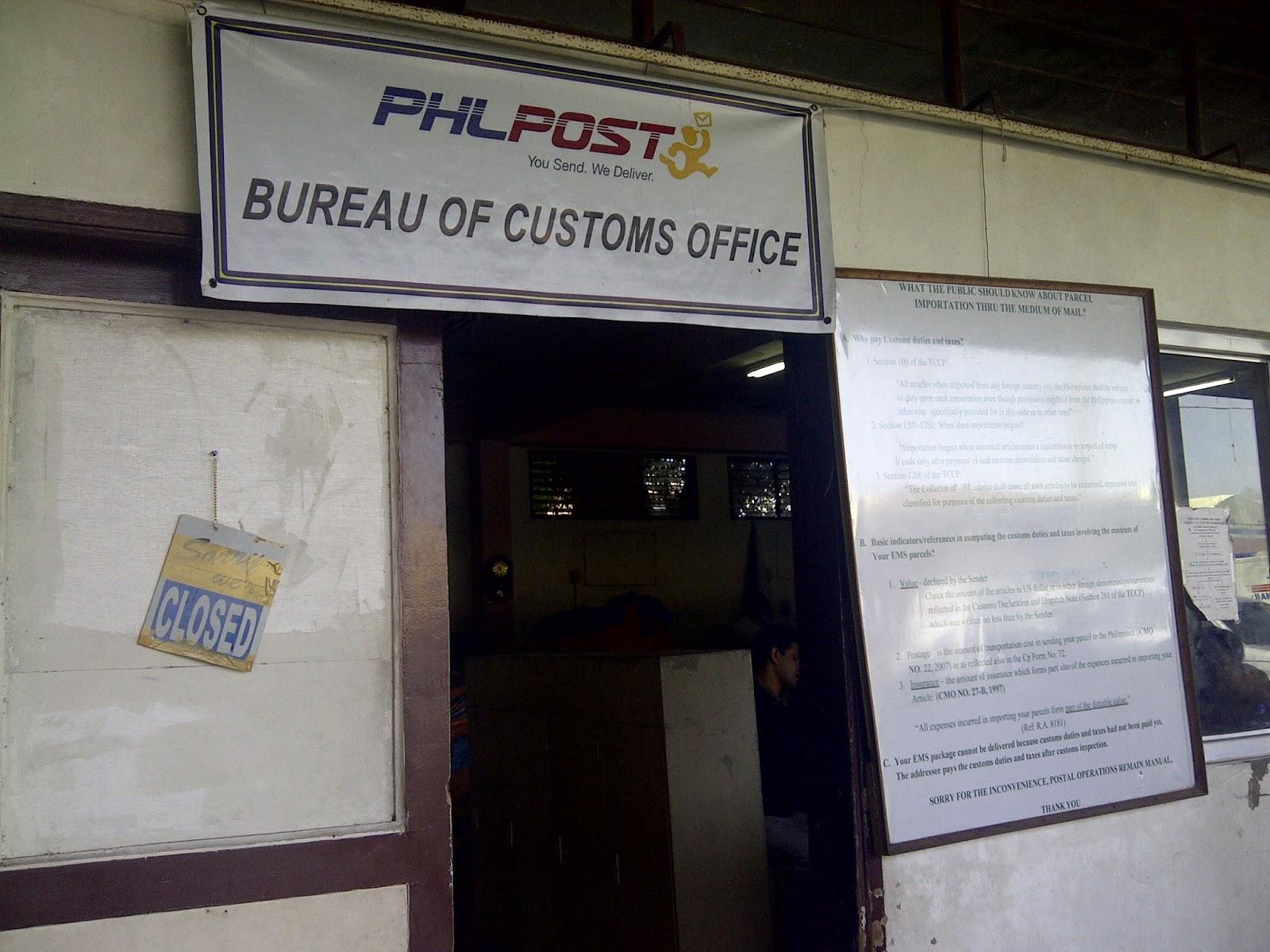 philpost bureau of customs service experience the bitch is back. Black Bedroom Furniture Sets. Home Design Ideas