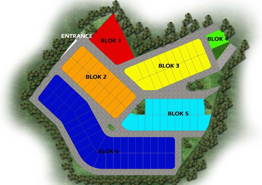 TFQ Architects Site Plan Perumahan Samarinda