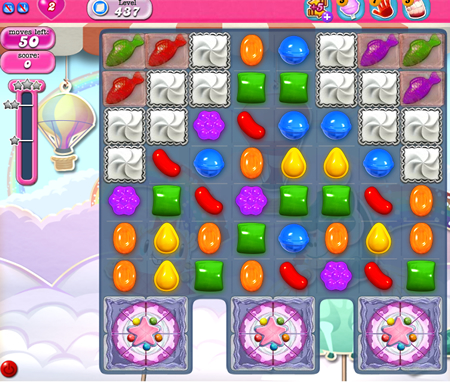 Candy Crush Saga 437