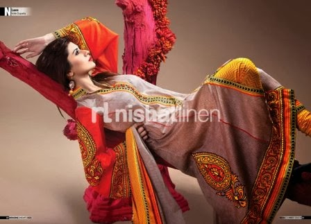Latest Nishat Linen Collection