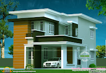 Flat Roof House - Kerala Home Design And Floor Plans