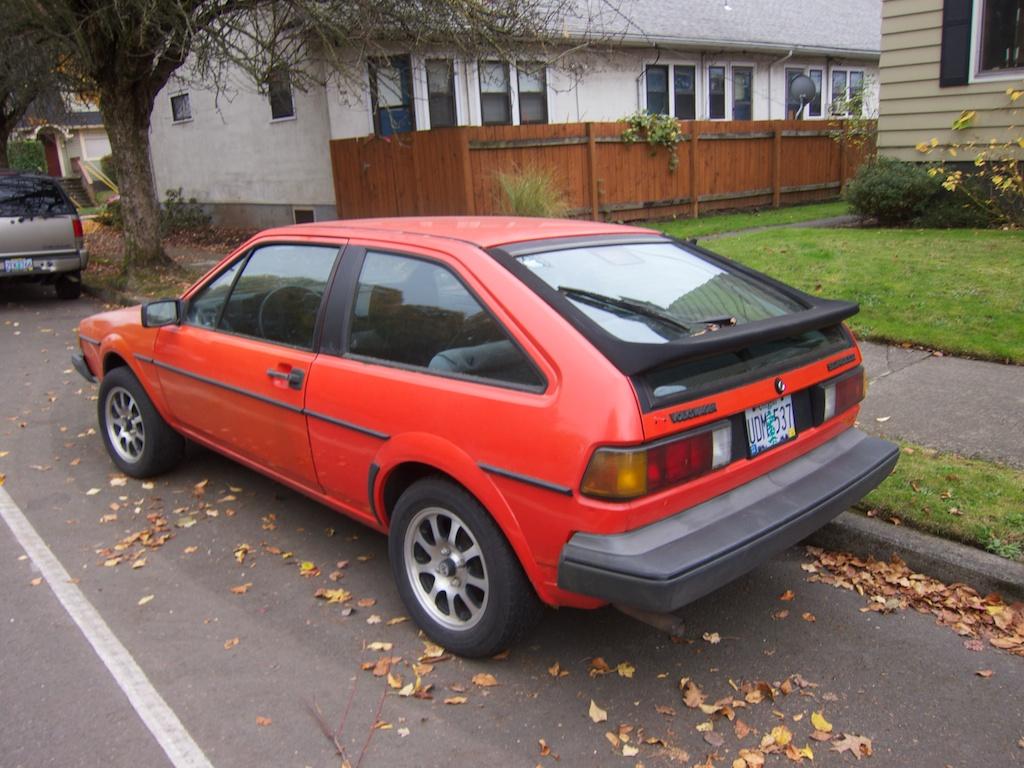 THE STREET PEEP: 1984 Volkswagen Scirocco