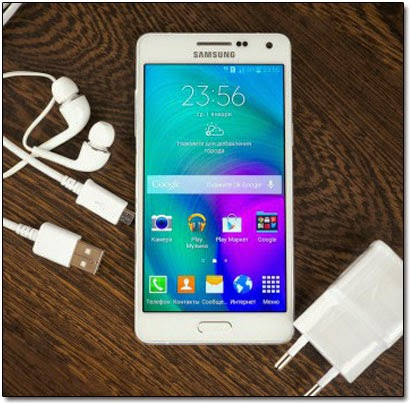 Samsung Galaxy A5 снабжён 5-дюймовым дисплеем с разрешением HD (1280х720).