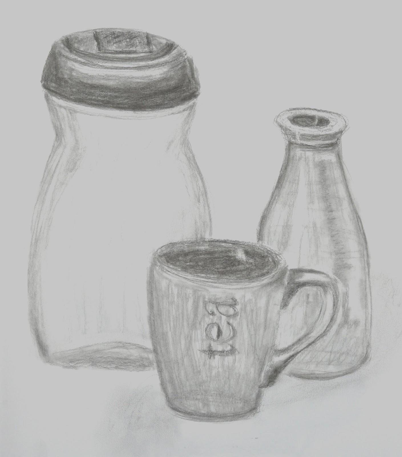 annmariesart: drawing & painting class - line, shape & form w/ joel
