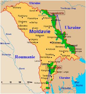 El proceso geopolítico en la República de Moldavia