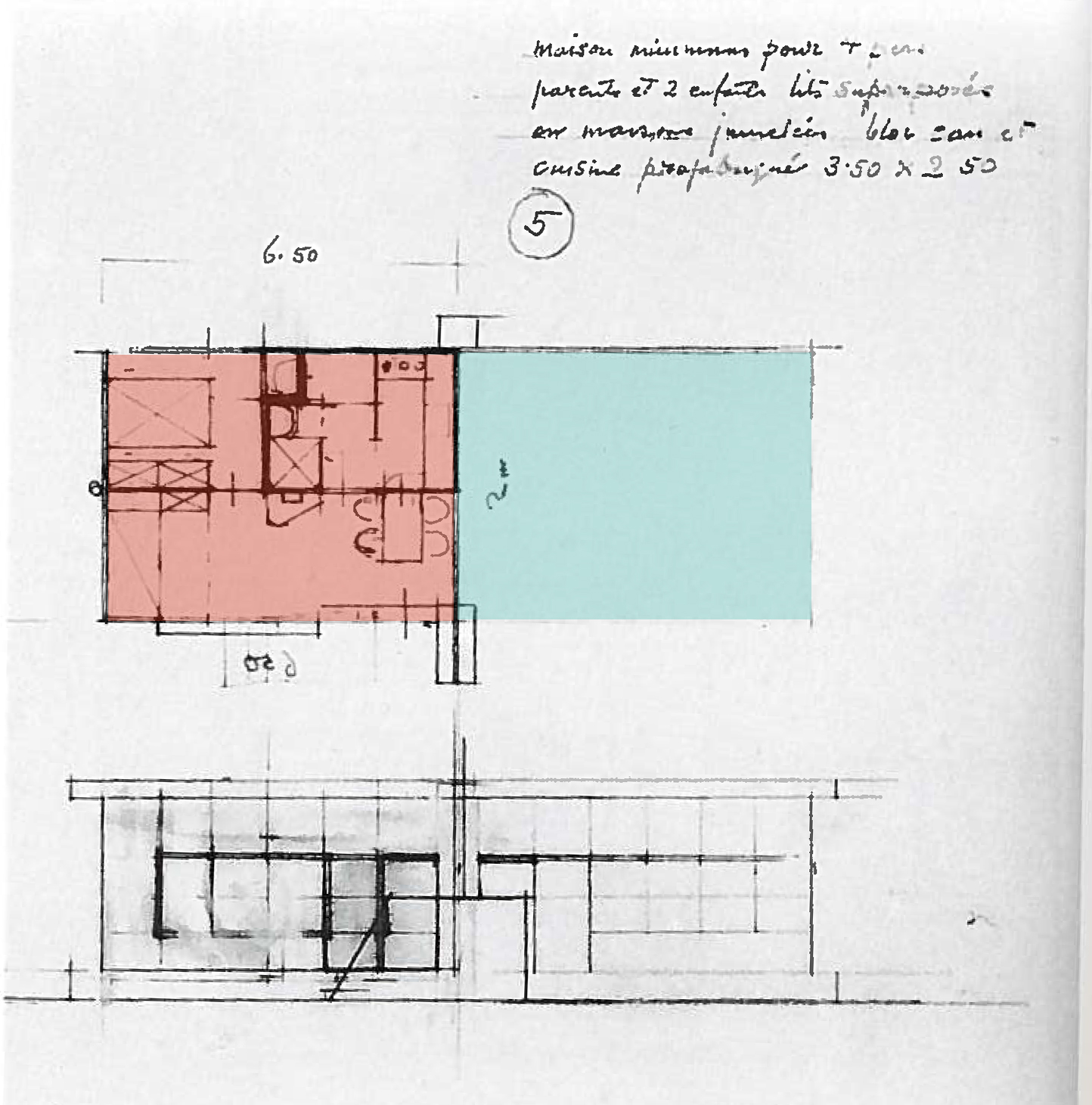 eileen gray e1027 floor plan - photo #37