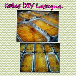 Kelas DIY Lasagna RM250