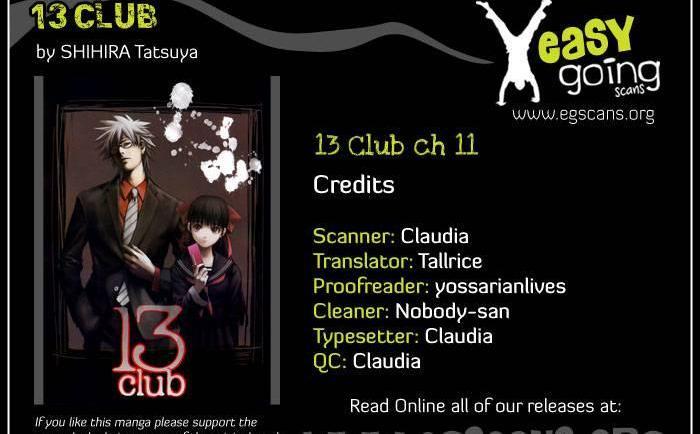 13 Club Ch.11 page 1 at www.Mangago.me