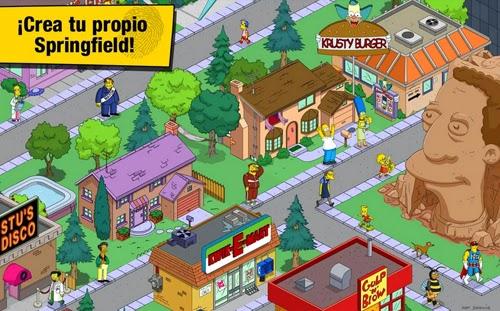 Descarga Simpson Springfield gratis y juegalo en tu telefono movil