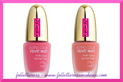 velvet matt pupa dot shock