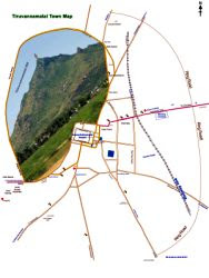 Tiruvannamalai Town Map