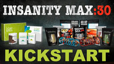 insanity max 30,shakeology, shaun T, Kickstart, 3 day refresh, savings, Jaime MEssina, Max 30