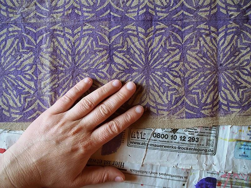 frauschoenert's violet blockprinting