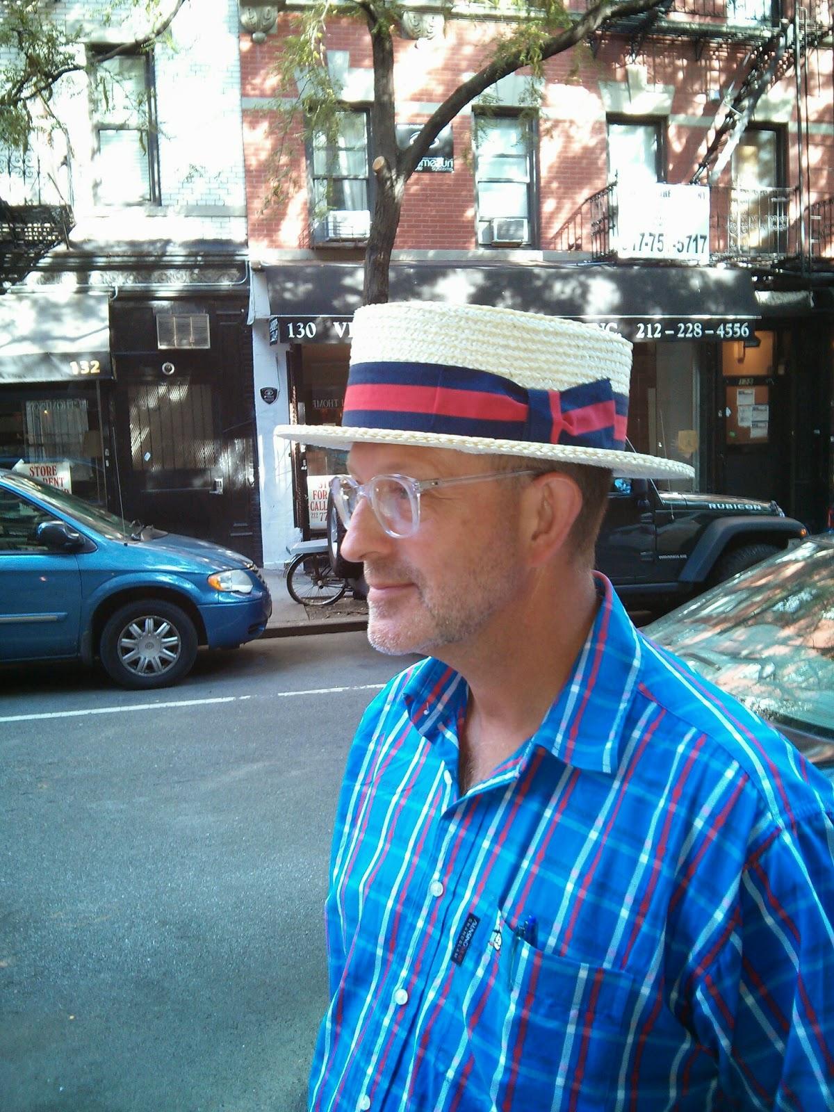 Sikmmer or Boater Hat