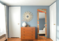 http://www.plasteranddisaster.com/colorful-leaning-mirror/