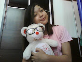 me with my teddy!
