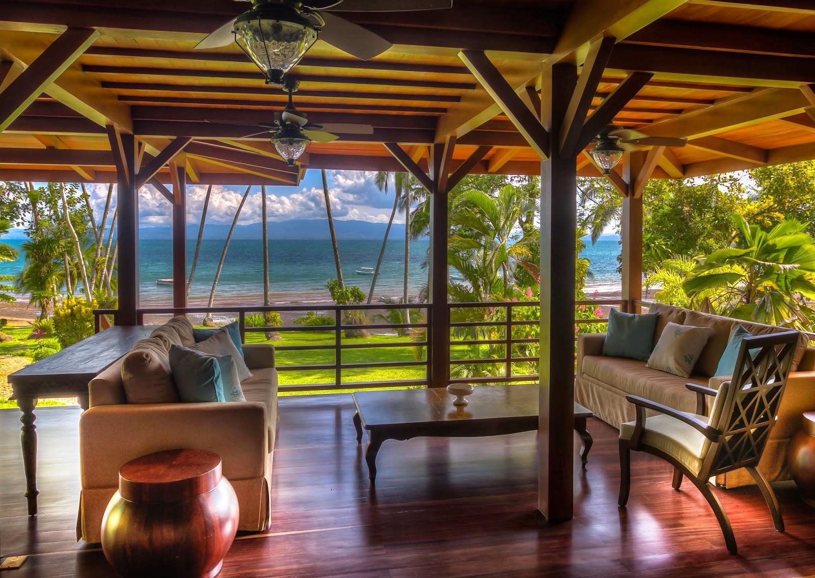 Playa Cativo Veranda Costa Rica