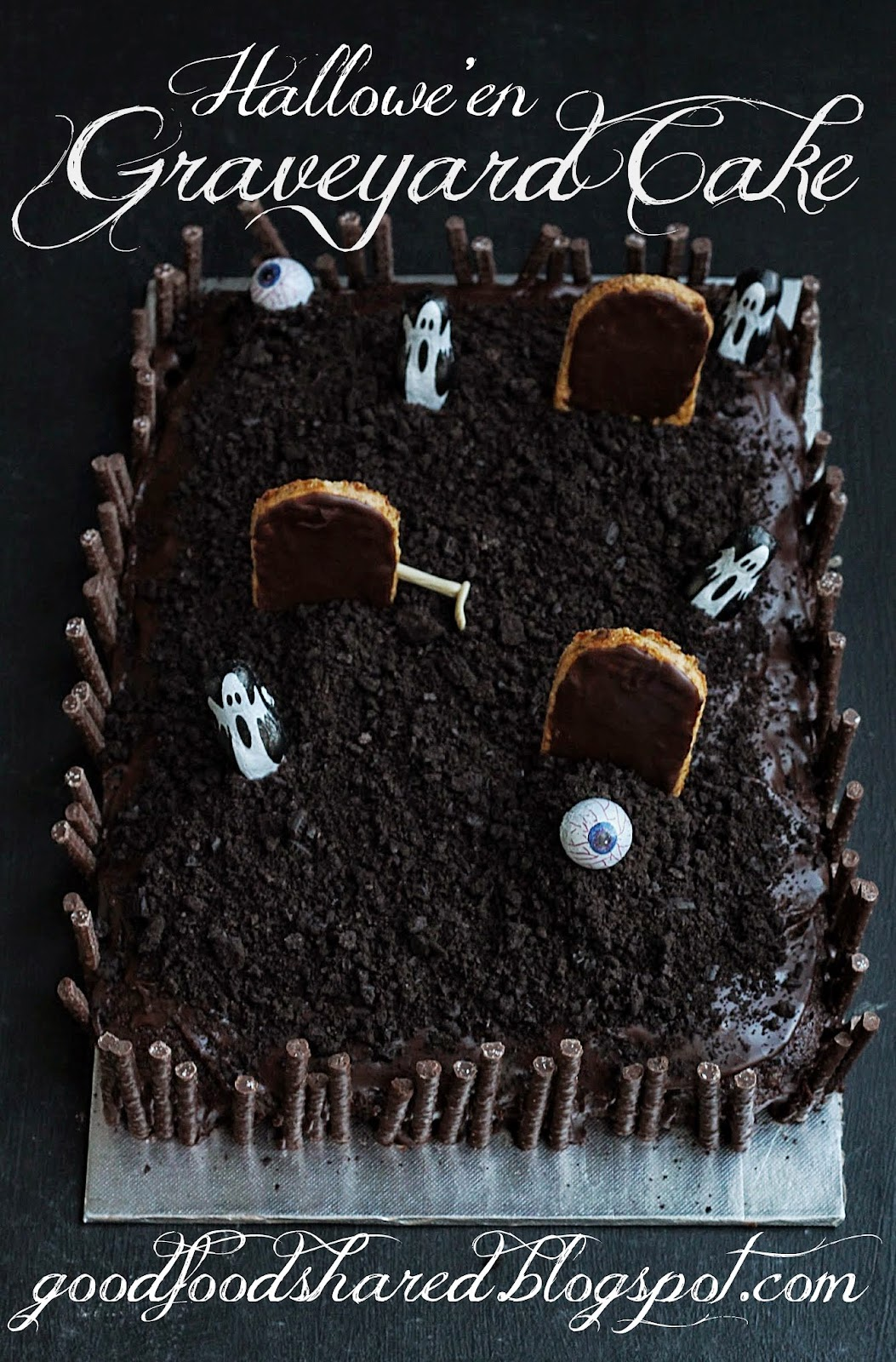 graveyard cake this is chocolate heaven and easier than youu0027d