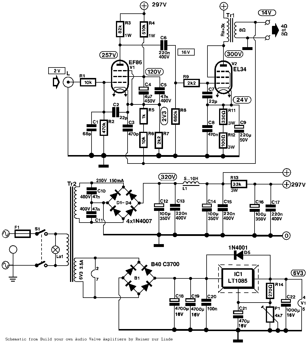 Tube Amplifier Circuit http://audiocircuit.blogspot.com/2013_01_01_archive.html