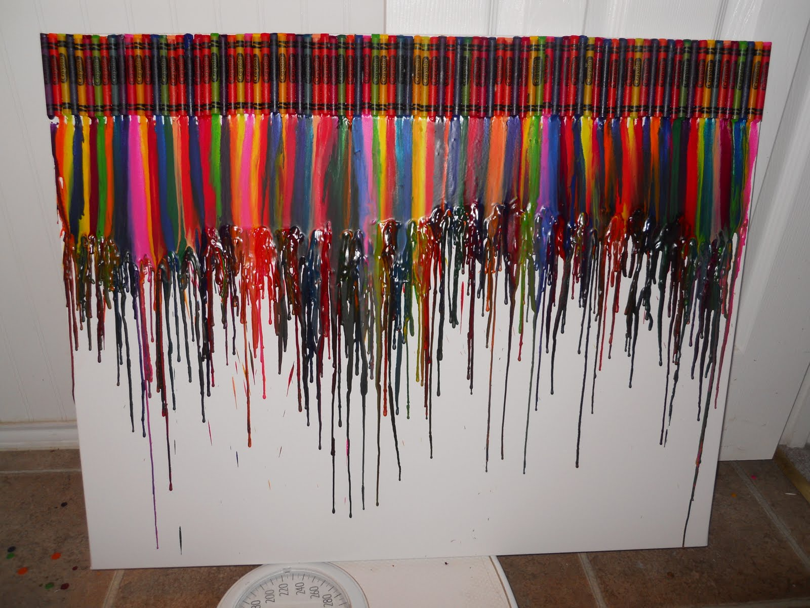 Site unavailable for How to melt crayons on canvas