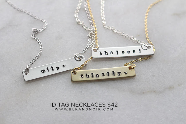 PERSONALIZED NAMEBAR NECKLACE FOR CAMILALOW