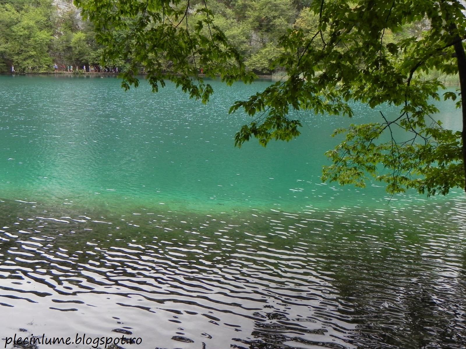 Pe malul lacurilor Plitvice