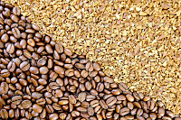 Granules or Coffee Beans