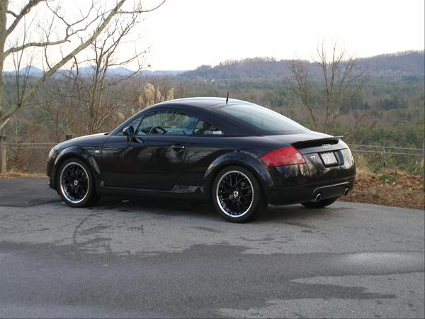 Car Magazine Audi Tt Quattro Black