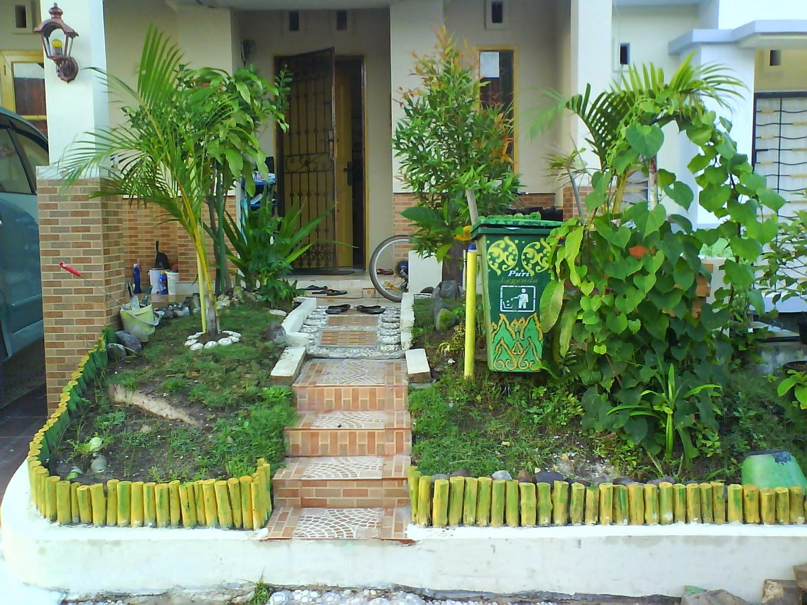 Konsep Taman Minimalis Depan Rumah Yang Indah