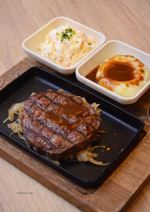Ribeye Steak - RM27.45 (150gms), RM34.87 (200gms)