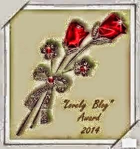 """Lovely Blog ""Award 2014"