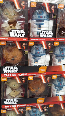 Disney Star Wars Talking Plush – The softest coolest action figures you'll ever see