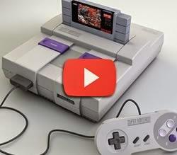Propaganda de lançamento do Super Nintendo no começo dos anos 90.