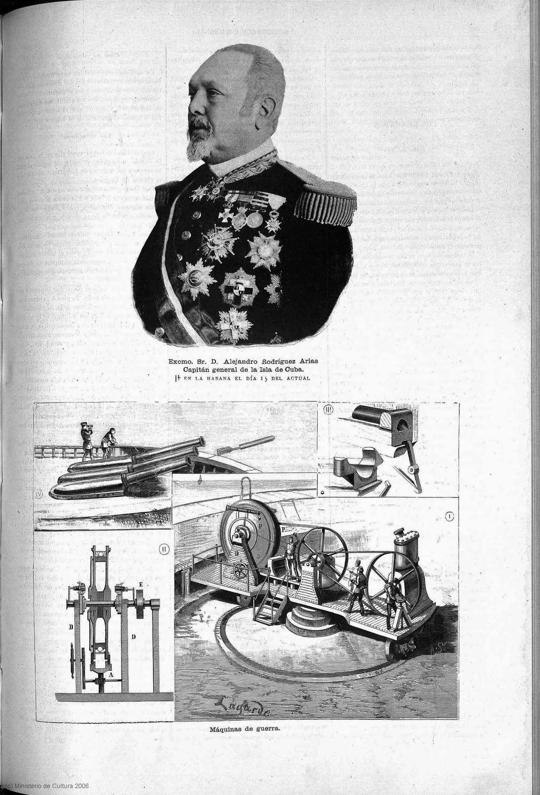Las últimas invenciones militares en este recorte de prensa antiguo