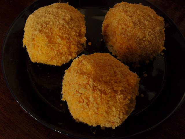 Arancini ready for frying