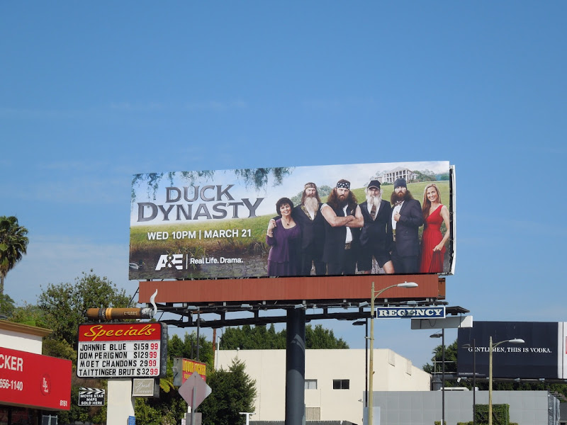 Duck Dynasty season 1 billboard