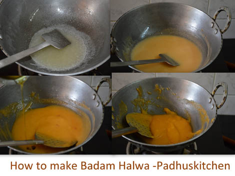 How to make Badam halwa