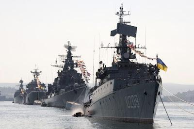Украина отметила день Военно-морских сил