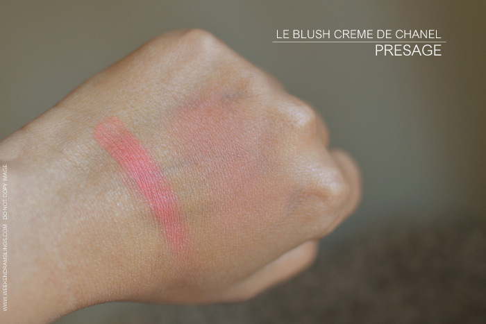 Le Blush Creme de Chanel Presage 62 Fall 2013 Superstition Makeup Collection Indian Darker Skin Beauty Blog Photos Swatches Review FOTD